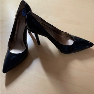 BCBGeneration black pumps, 4 inches heel, size 6.5